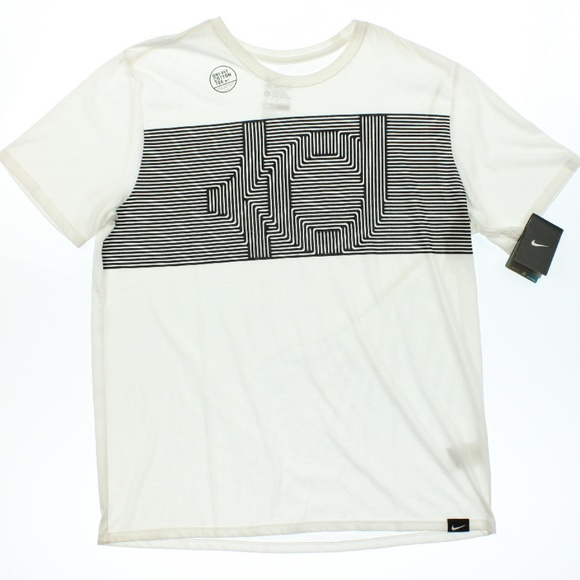8f4aab58f Nike Shirts | Mens White Drifit Kd Printed Athletic Cut Tshirt ...